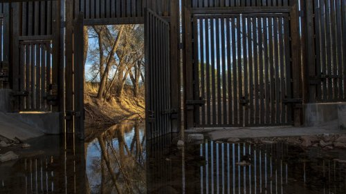 Trump's border wall scarred sacred lands, displaced wildlife and drained water. Can it be taken down?