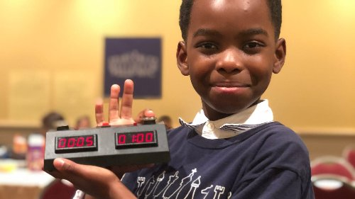 10-year-old boy who once lived in a homeless shelter achieves remarkable title: chess master