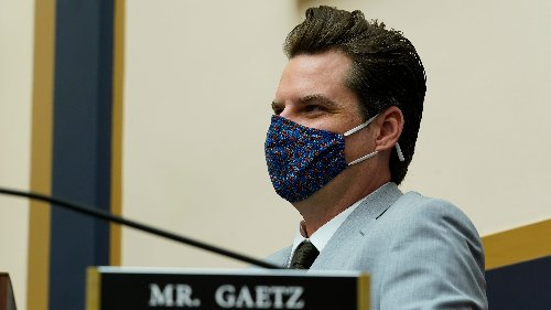 GOP House leader: No plans to discipline Matt Gaetz over sex-trafficking investigation
