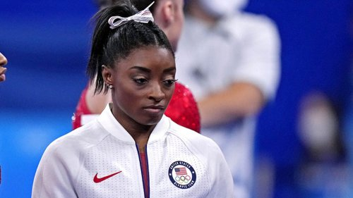 Here's what Simone Biles told reporters after withdrawing from Tokyo Olympics team final