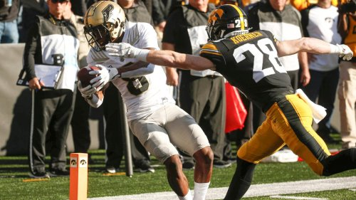 Purdue leaves no doubt in shocking upset of No. 2 Iowa behind Aidan O'Connell, David Bell