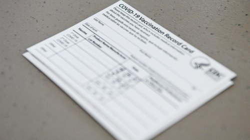 Lost your COVID-19 vaccine card? Don't worry, you can get a new one.