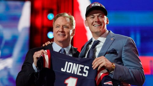 After a Long Wait, Mac Jones is a Patriot