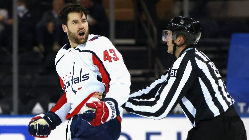 Tom Wilson's Actions That Started It All Monday