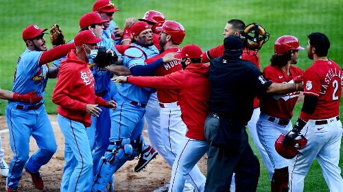 'There is a lot of testosterone:' Why beefs and brawls are a way of life in the NL Central
