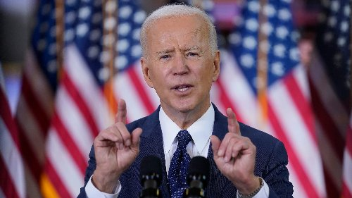 Fact check: False claim that President Joe Biden's approval rating lowest in American history
