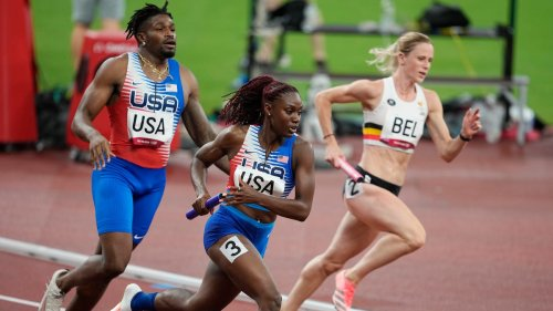 US 4x400 mixed-gender relay reinstated after DQ in debut of event at Tokyo Olympics