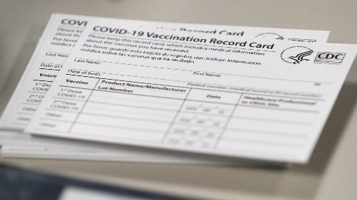 Readers say laminating your COVID-19 vaccination card may not be best idea: Here's why