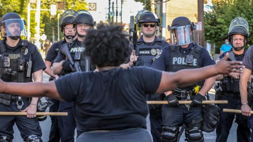 As protests continue over police killings, lawmakers try to add to the list of crimes protesters could face