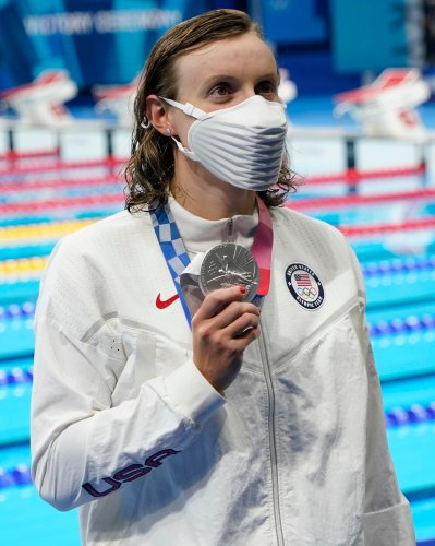Katie Ledecky reflects on first individual Olympic loss of career in the 400m freestyle