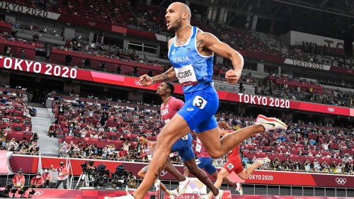 Italy's Lamont Marcell Jacobs wins 100-meter dash, takes over as fastest man in the world