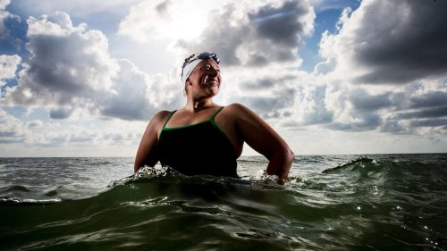 Florida woman swims English Channel and back in 25 hours, a rare feat in open water swimming