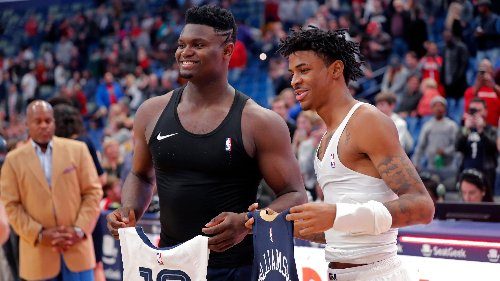 His rookie season was better than Zion Williamson's and a docuseries will now tell his story