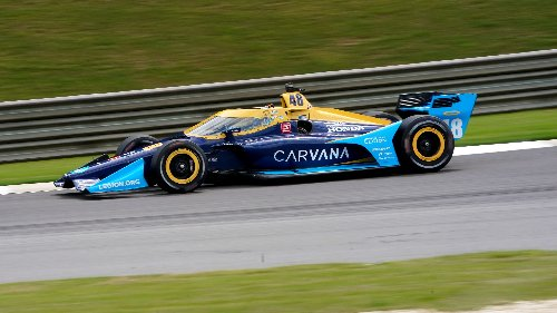 Jimmie Johnson, Romain Grosjean exceed own expectations in IndyCar debuts at Barber Motorsports Park
