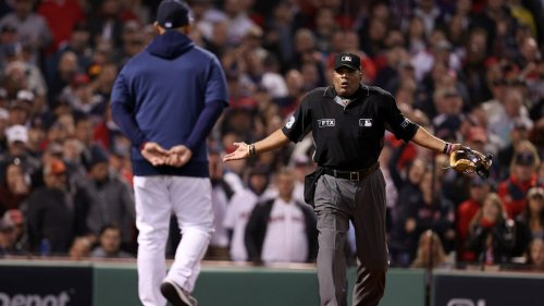 MLB should be embarrassed by ump's brutal performance in Astros-Red Sox Game 4