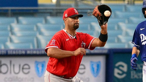 Free agent Albert Pujols, Los Angeles Dodgers agree to major-league contract