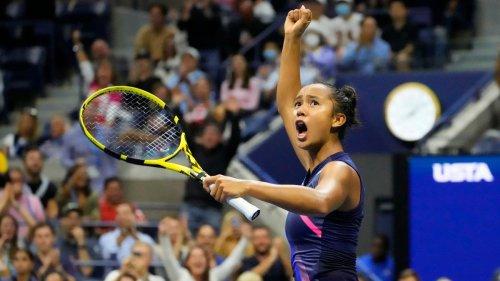 US Open: Leylah Fernandez stuns Aryna Sabalenka to earn spot in women's championship