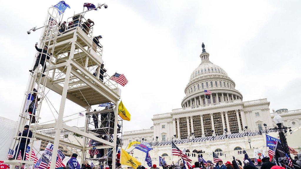 Capitol Riots  - cover