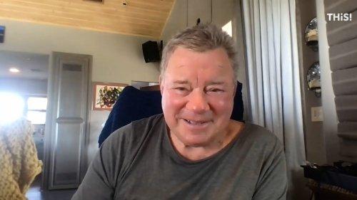 William Shatner reflects on 'Star Trek' cancellation, debunks Kaley Cuoco rumor