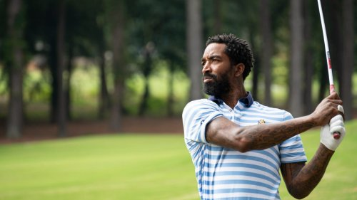 Two-time NBA champion JR Smith feels like 'one of the guys' during eventful college golf debut