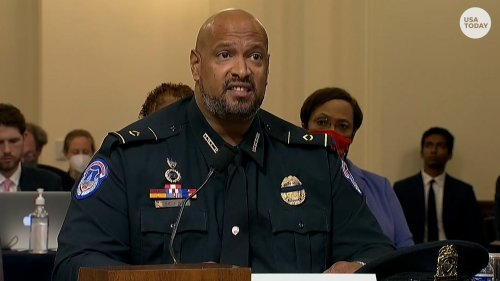 'Is this America?': Capitol Police officer Harry Dunn asks special Jan. 6 House committee