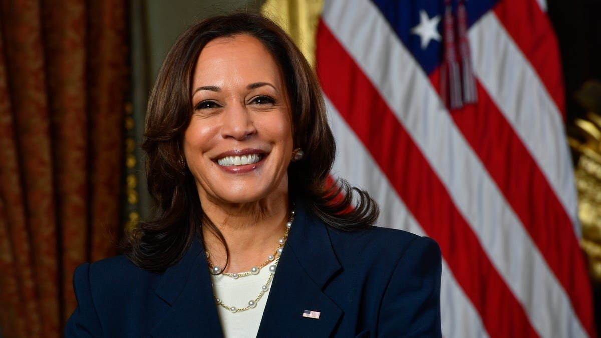 'You are strong.' Vice President Kamala Harris has a message for American women