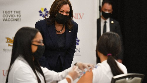Vice President Harris to kick off national vaccination tour in Greenville