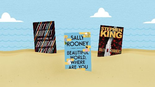 Sally Rooney, Stephen King, Brandon Taylor and more of summer's hottest books