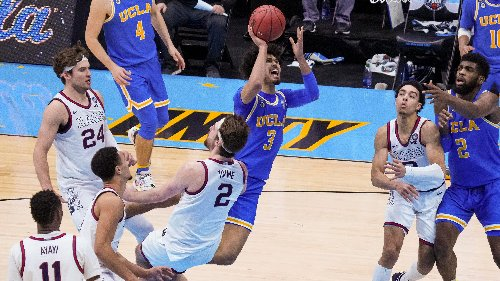 Final Four: Did late call on UCLA's Johnny Juzang cost Bruins the game against Gonzaga?