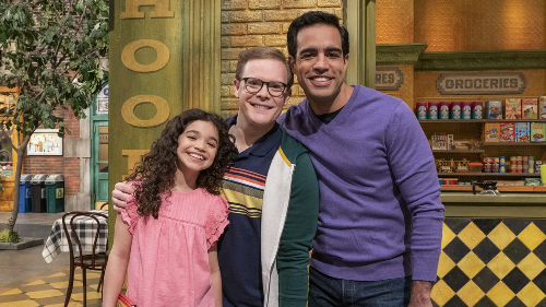 'Love is love': Sesame Street features first married same-sex couple to have recurring spots on show