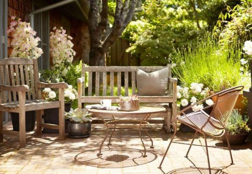 Hardscaping 101: How to Care for Wood Outdoor Furniture - Gardenista