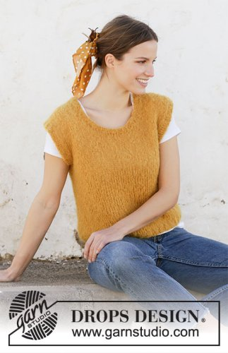 Golden Treasure / DROPS 212-17 - Free knitting patterns by DROPS Design