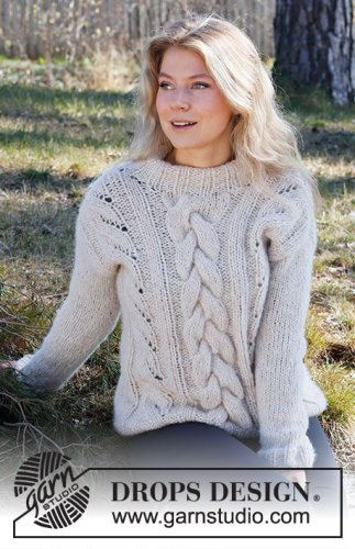Birch Grove / DROPS 218-34 - Free knitting patterns by DROPS Design