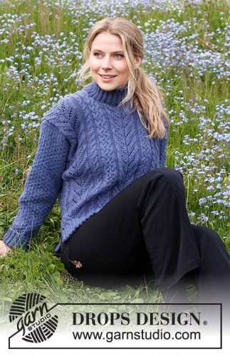 Cool Confidence / DROPS 216-25 - Free knitting patterns by DROPS Design
