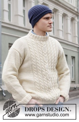 Fisher's Moon / DROPS 219-9 - Free knitting patterns by DROPS Design