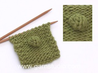 How to knit a bubble (Tutorial Video)