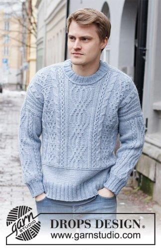 Crisp Air / DROPS 219-12 - Free knitting patterns by DROPS Design