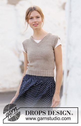 Minimalist / DROPS 210-35 - Free knitting patterns by DROPS Design