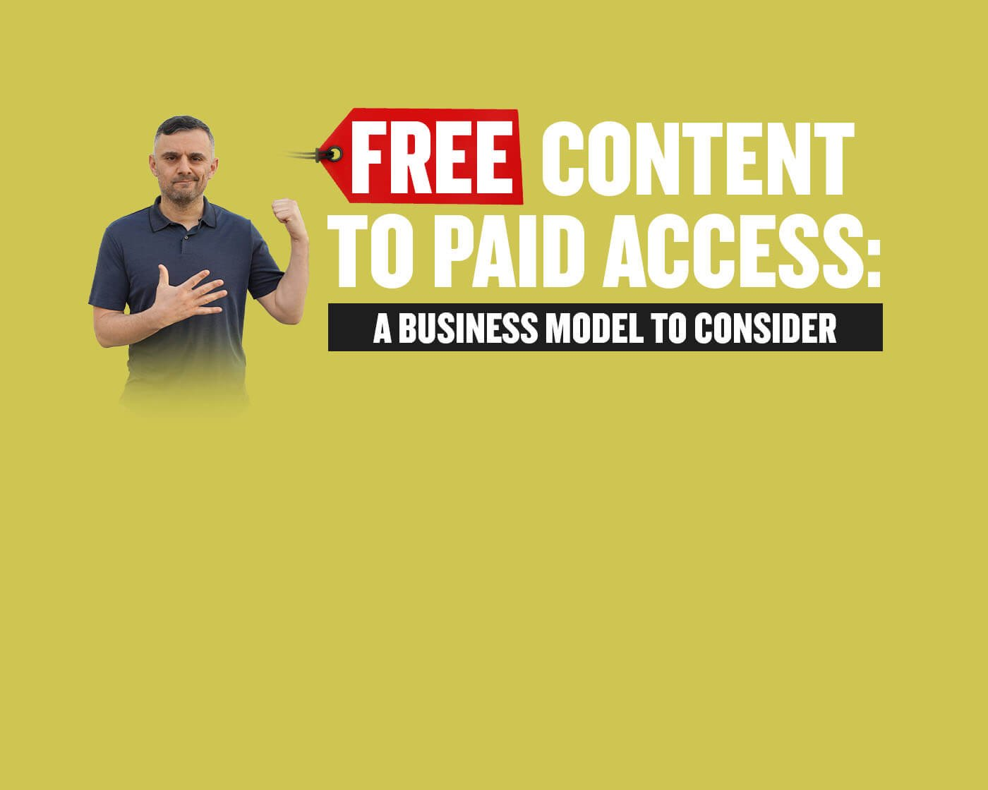 Free Content To Paid Access: A Different Business Model To Consider