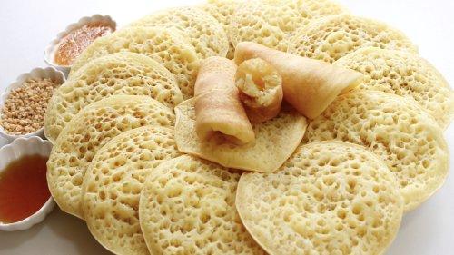 Baghrirs ,crêpes mille trous | Gâteau et cuisine Rachida