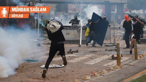 Serhat Tutkal: Kolombiya'nın tüm büyük şehirleri polis saldırısı altında - Mühdan Saglam