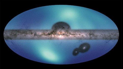 Samanyolu'nun yörüngesinde dönen karanlık madde haritalandırıldı