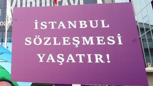 İstanbul Sözleşmesi 10 yaşında: Çekilme kararı protesto ediliyor