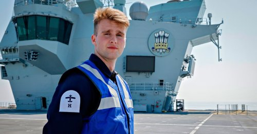 Grangetown sailor joins UK's biggest warship, HMS Prince of Wales