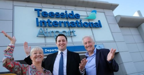 Reason Teesside Airport operator departed 2 years into 4 year deal