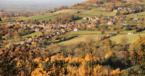Life in 'Yorkshire's prettiest village' which is frozen in time