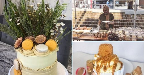 Teen set up own cake business at 16 before landing her dream job