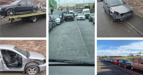 27 'abandoned' and untaxed cars blighting streets removed in crackdown