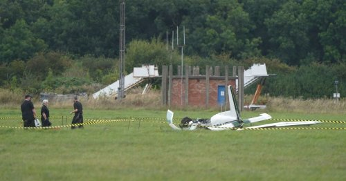 Teesside Airport crash: Trio remain in hospital as reopening confirmed