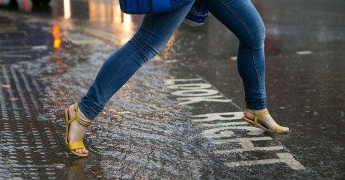 Heavy rain Met Office weather warning for Teesside